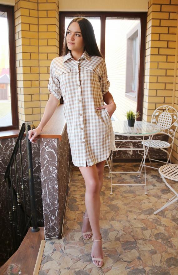 Коллекция Bon Voyage рубашка-халат № 170521 - 1